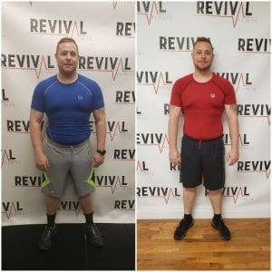 Weight Loss Transformation - Revival Fitness